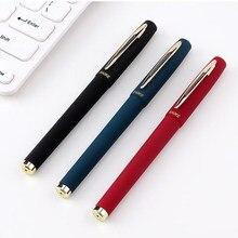 Caneta de gel de negócios 1.0mm preto/azul/vermelho tinta reenchimento gel canetas de tinta escritório escola escrita suprimentos caneta neutra