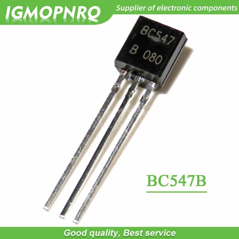 100x BC547 TO 92 NPN Transistor