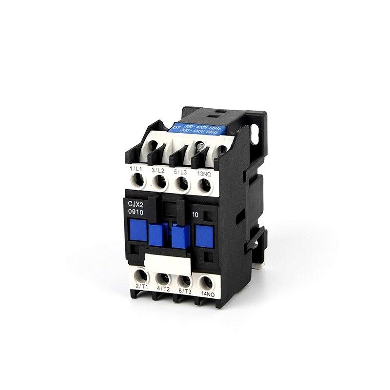 CJX2-0910 controle do contador da c.a. do motor AC-3 9a 3 p + polo 3 24 v 36 v 110 v 220 v 380 v volts bobina