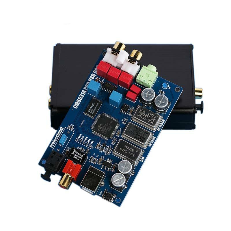 Lusya alta fidelidade de áudio cm6631a interface digital 32/24bit 192k usb para i2s iis spdif óptico coaxial saída decodificador dac G5-007