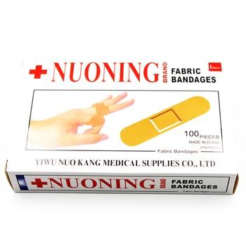 100Pcs/bag First Aid Bandage Heel Cushion Adhesive Plaster Random Color Band Aid Wound Dressings Sterile Hemostasis Sticker