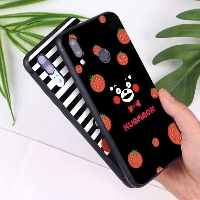 Untuk Huawei Honor 9x PRO 8X10 20 10 Lite 20 Pro Jelas Lembut Silicone Ponsel Case Kumamon Indah