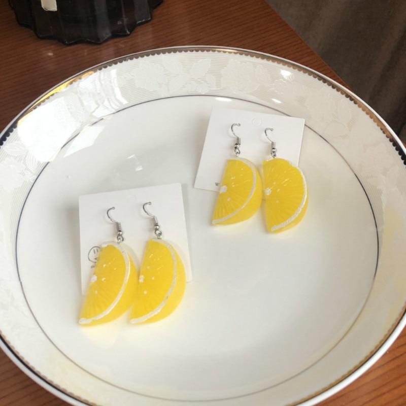 Lemon Orange Earrings 3