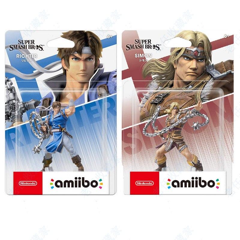 Фигурка Nintendo Switch Amiibo Simon Richter Super удар Castlevania для WiiU 3DS NS