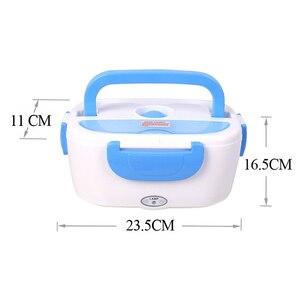 Image 5 - AHTOSKA 12V Tragbare Elektrische Heizung Lunch Box Lebensmittel Grade Food Container Lebensmittel Wärmer Für Kinder 4 Schnallen Geschirr sets Auto