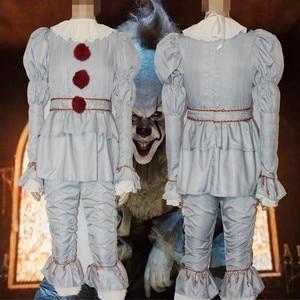 Image 5 - 2020 novo joker retorna para a alma cos penny sábio cosplay traje de halloween joker pennywise