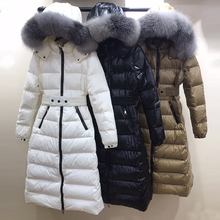 Women Duck Down Coat Long 2019 Fashion Female High Quality W