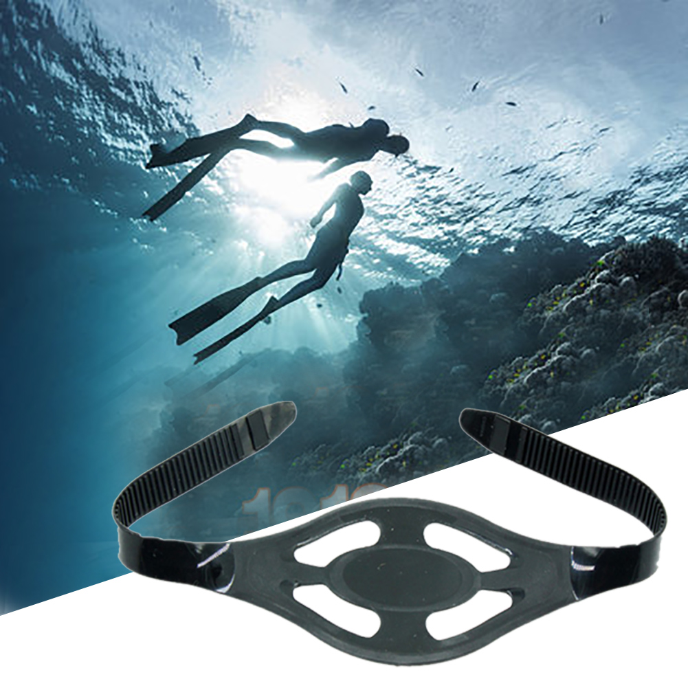 Swimming Adjustable Water Sports Outdoor Universal Diving Mask Strap Replacement Snorkeling Silicone High Elasticity Adult