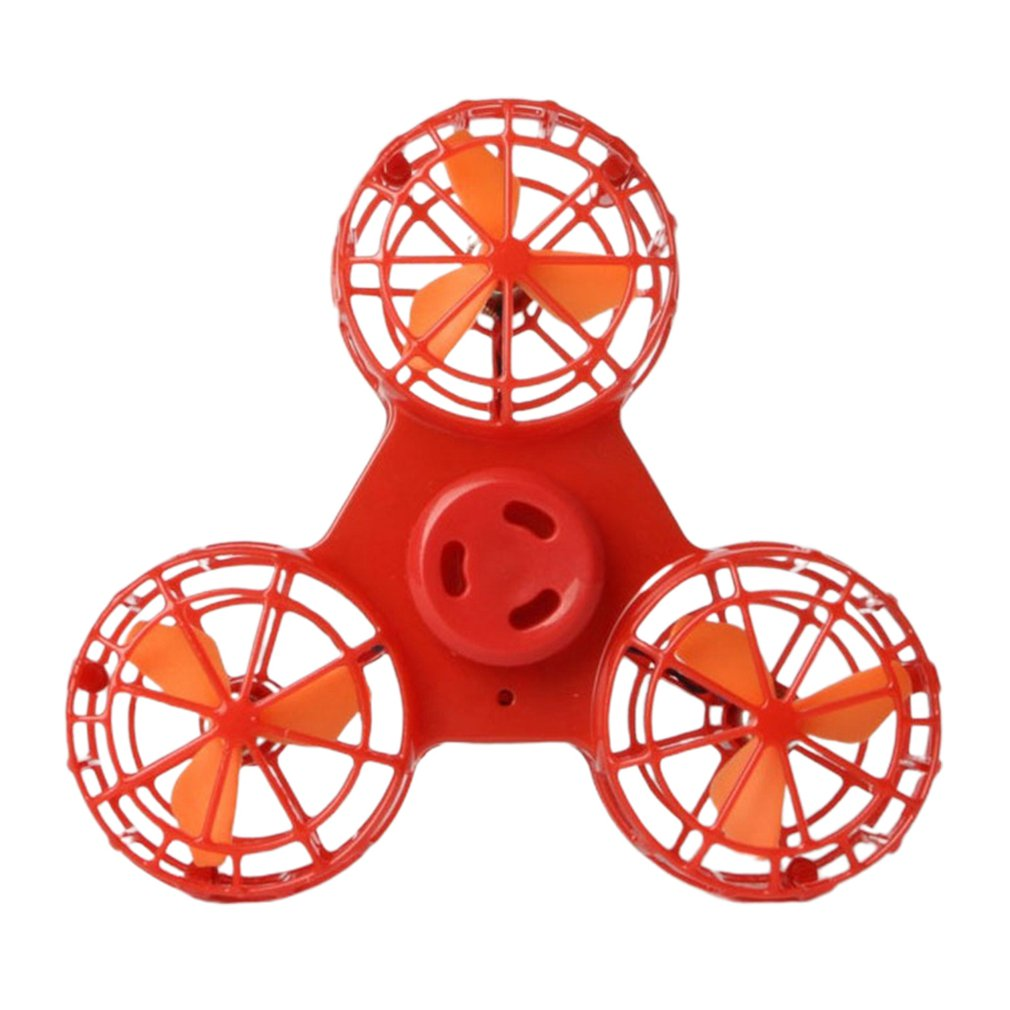 Flying Spinner Aircrafts Flying Finger Tops Autism Anxiety Stress Release Toys Great Funny Gift Toys