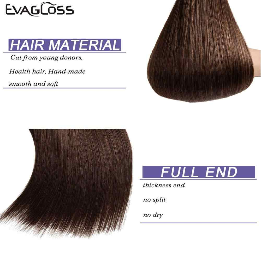 Tape In Human Hair Extensions 20Pcs 40Pcs 80Pcs Tape Hair Extensions 100% Menselijk Remy Europese Rechte Adhensive tape Op Haar