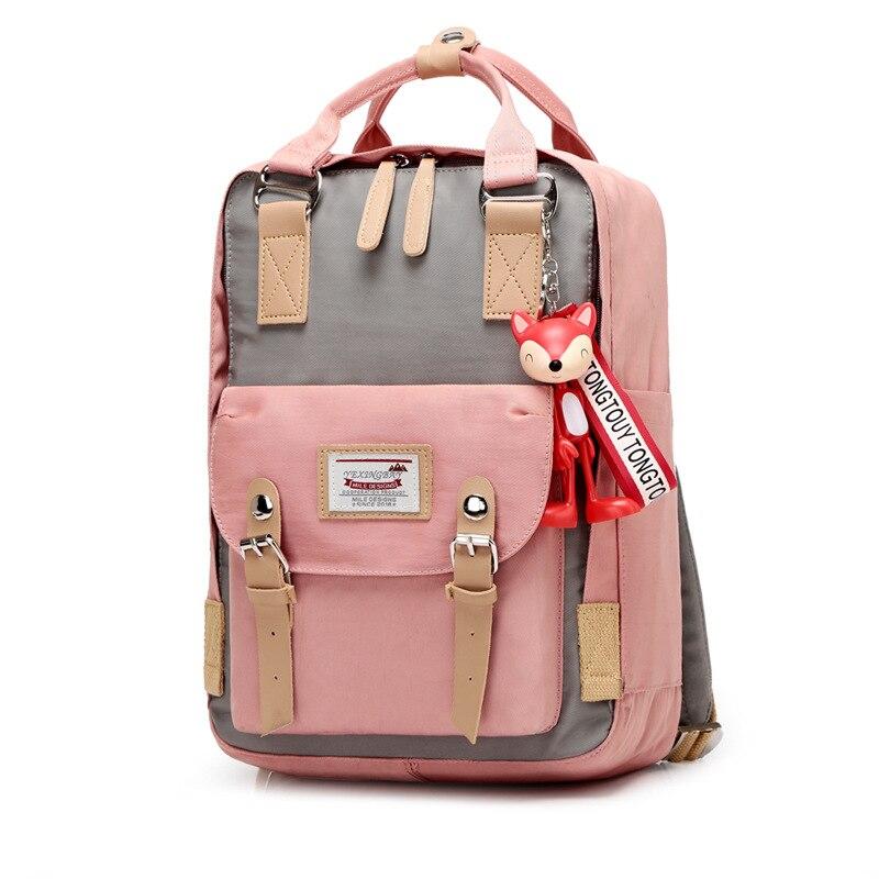 Donuts Girls Campus Backpack Waterproof Kids Backpack For Middle School Students Travel Backpacks Children Schoolbags Women Bags