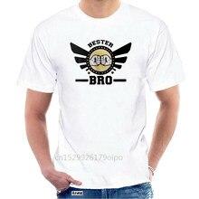 Neueste 2020 Männer Mode Bro T-Shirt Herren 01073 Bester Freund Bruder Geburtstag Barney Kodex Spaß Lustig Sommer Stil @ 075151