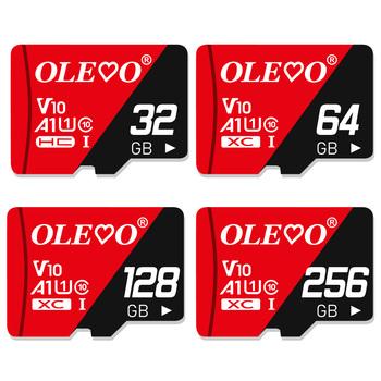 Pamięć micro sd karty 8GB 16 GB 32 GB High speed 64GB klasa 10 karta micro sd 128gb 256gb karta TF na telefon Tablet pc tanie i dobre opinie olevo CLASS 10 C10 V10 CLASS 10 TF Card CN (pochodzenie) Tf micro sd card