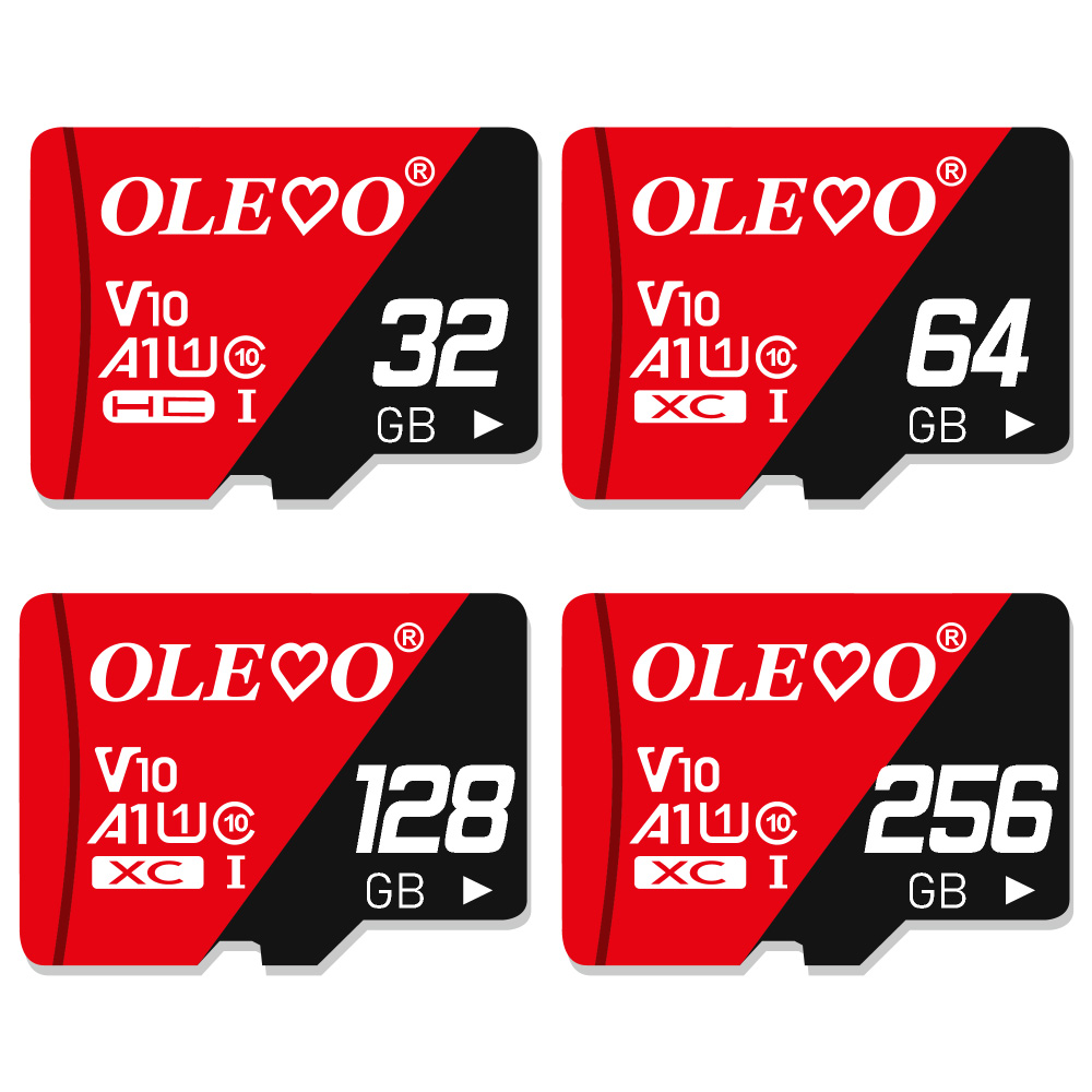 Micro sd карта памяти, класс 10, 8 ГБ, 16 ГБ, 32 ГБ, 64 ГБ, 128 ГБ, 256 ГБ