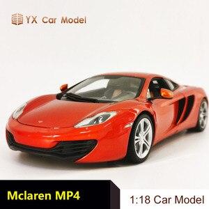 Diecast Car Model McLaren MP4-12c Mclaren McLaren 1:18 alloy simulation car model collection(SMALL GIFT)(China)