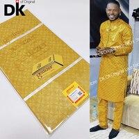 Bazin Riche Gextczer-tela africana de encaje de alta calidad, 100% de brocado Original de algodón que mantiene el brillo, 5 yardas, 2021