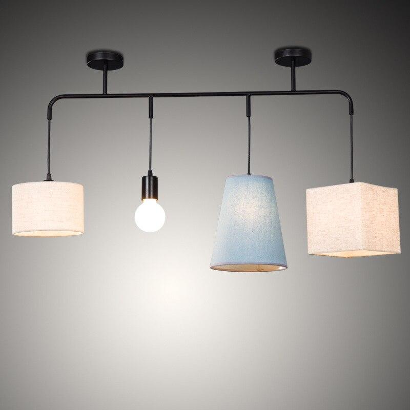 Modern Hanglamp Rope  Bedroom Hanging Ceiling Lamps