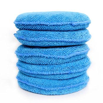 Gąbka piankowa z mikrofibry wosk do polerowania poduszeczki do aplikowania samochodów sprzątanie domu Pad Auto polerowanie akcesoria tanie i dobre opinie WGJCE circular