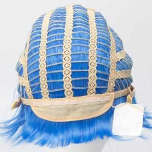 Image 5 - Мужской короткий парик, термостойкий парик из синтетических волос, вечерние парики для Хэллоуина