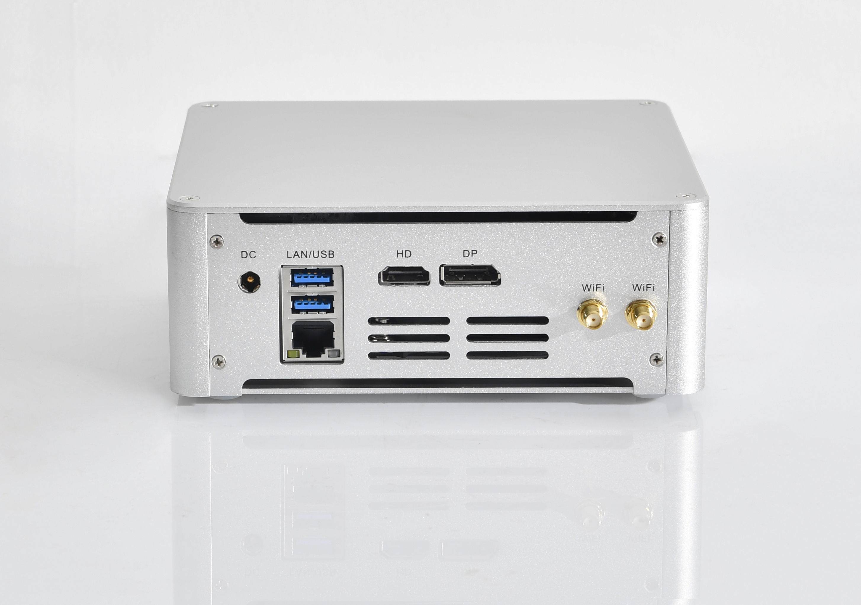 Kingdel Mini PC Intel HD Graphics630 Quad Core 8Mb Cache I7 7820HK I5 7300HQ Nettop Mini PC Computer