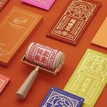 Китайская традиционная печать, новогодний подарок, пользовательский подарок, прокатное уплотнение, деревянное уплотнение