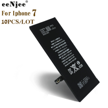 EENJEE 10pcs cell Phone Battery For Iphone 7 7G 3.8V 1960mah ORG Quality Original IC Replacement Batteries OEM