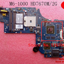 702177-001 para HP ENVY M6-1000 M6 Notebook Motherboard A70M HD7670M/2G LA-8712P 702177-501