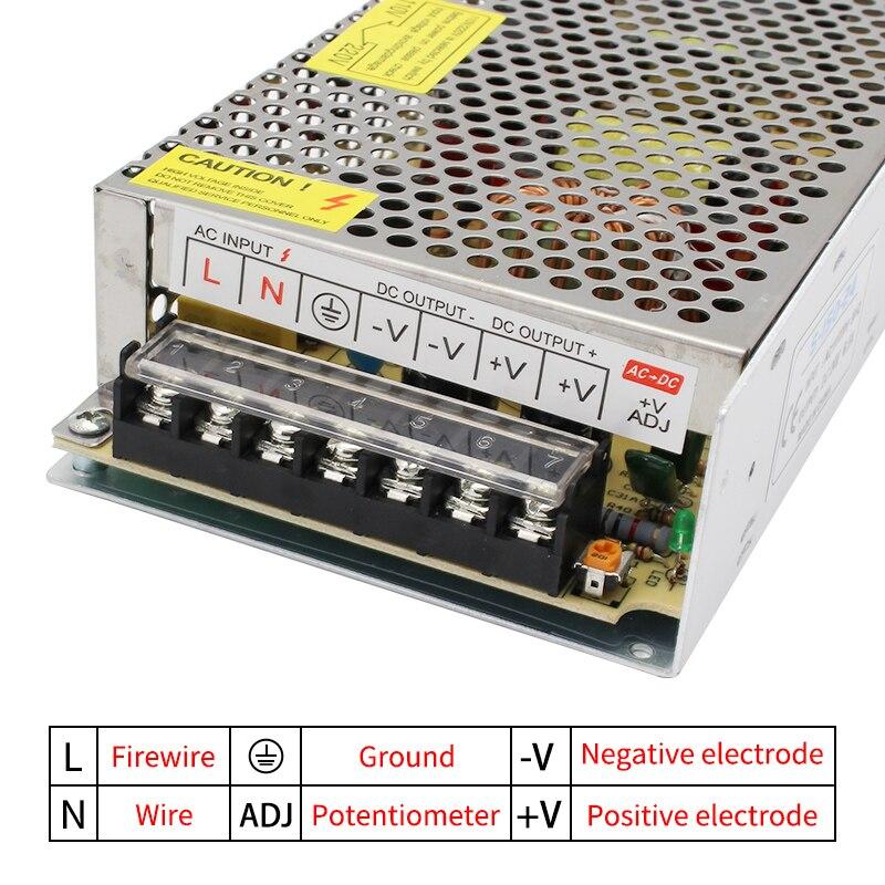 AC DC 3V 5V 9V 12V Power Supply,15V 18V 24V 36V Fonte 500W Transformers,220V To 5 12 24 V Power Supply,5V 12V 24V SMPS-5
