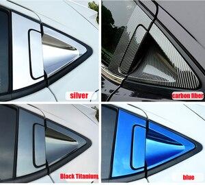 Image 3 - Paslanmaz araba arka kapı kolu kase kapağı karbon Fiber dış kapı kolu kase kapağı Trim Honda HR V HRV 2016 2018 c1019