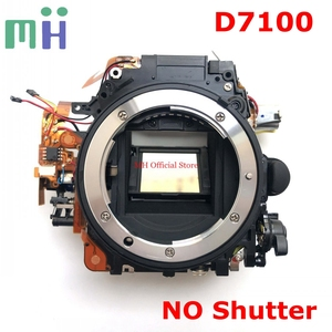 Image 1 - Second hand For Nikon D7100 Front Main Body Frame Mirror Box with Aperture Driver Motor Diphragm Unit ( NO Shutter ) Spare Part