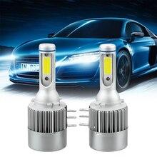 Auto Scheinwerfer für BENZ Audi BMW VW 1 Paar 18W 2000LM Auto Scheinwerfer Lampe COB Auto Lampen H15 LED birne Auto Lichter