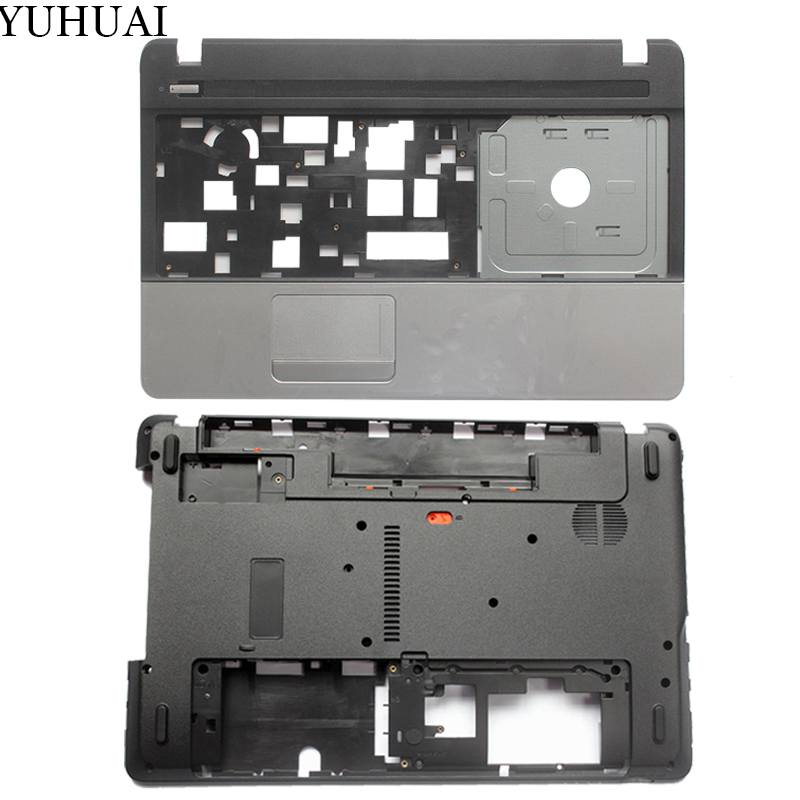 NEW case cover For Acer Aspire E1 571 E1 571G E1 521 E1 531 Palmrest COVER/Laptop Bottom Base Case Cover AP0HJ000A00 AP0NN000100-in Laptop Bags & Cases from Computer & Office