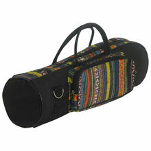 Высококачественная прочная профессиональная сумка-труба, мягкая хлопковая сумка Оксфорд, чехол с двойной молнией, сумка из ткани Оксфорд