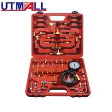 TU 443 Deluxe Manometer Kraftstoff Injektion Druck Tester Gauge Kit system 0 140 psi