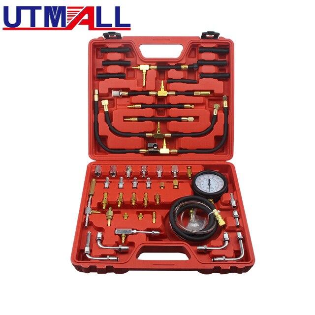 TU 443 Deluxe Manometro Del Carburante Tester di Pressione di Iniezione Gauge Kit sistema di 0 140 psi