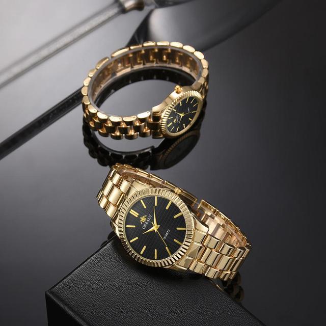 Couple Mens Women Watches Top Brand Luxury Quartz Ladies Wristwatch 3