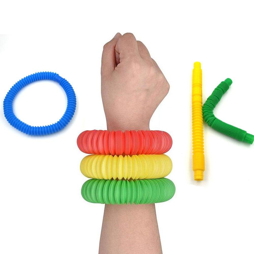 Fidget Toys Tubes Simpel Dimpel Decompression Squeeze Push Bubble Sensory Adult Relief Educational Antistress Toys img1
