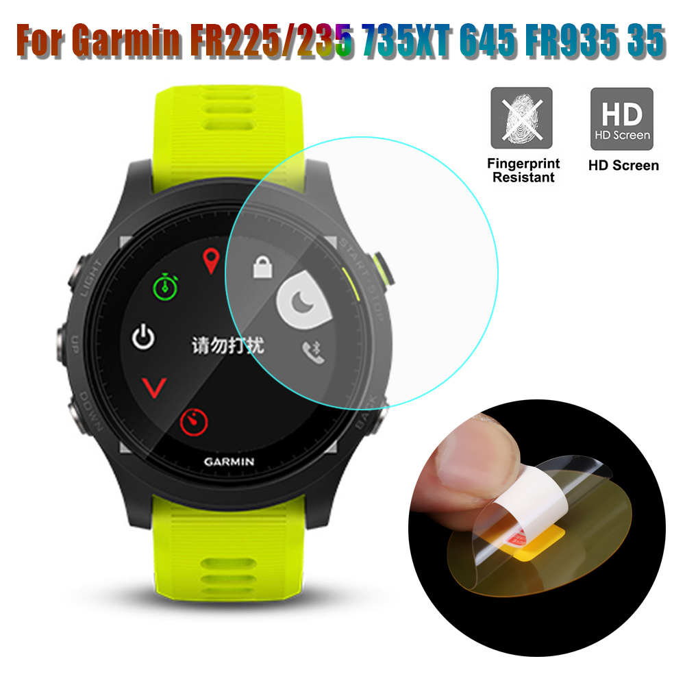 1Pc/5Pcs For Garmin Forerunner 235 225 230 630 245 645 Music 735XT 935 945 45 45S Tempered Glass Screen Protector Premium Watch
