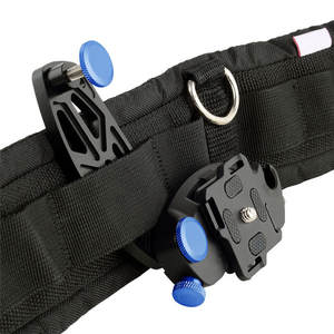 FORNORM Carrier-Buckle Camera-Mount Clip-Waist Quick-Release-Lever Load-Capacity No-Peak-Design