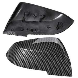 Image 5 - 1 Pair Black Carbon Wing Mirror Cover Cap For BMW 1 Series 2 Series 3 Series 4 Series F20 F21 F22 F30 F31 F32 F33 F35 F36 X3