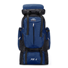 Outdoors Big Capacity 75l Bags Travel Traveling Luggage Bag Duffle Duffel Weekend Sport Womens Large Backpack Trip