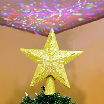 Projection Star Christmas Tree Topper 2