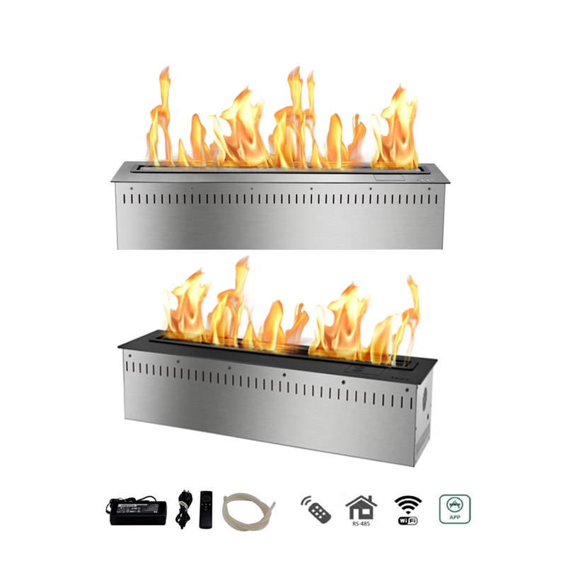 36 inch remote control smart fire place - 6