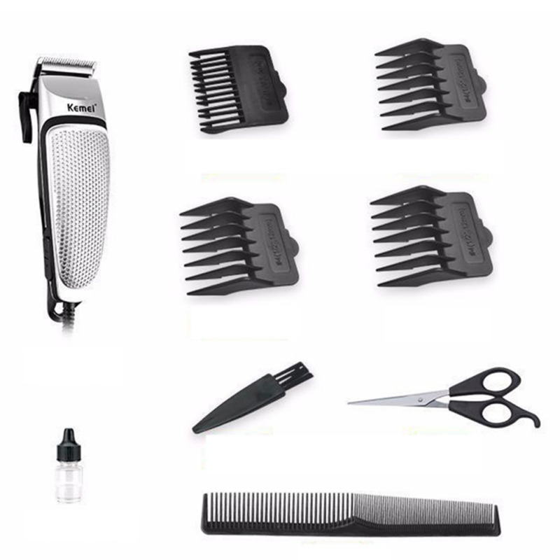 Electric Hair Cut Razors Stainless Steel Noise Reduction Silent Design Hair Clipper Hair Beard Trimmer Hair Cutting Styling Tool