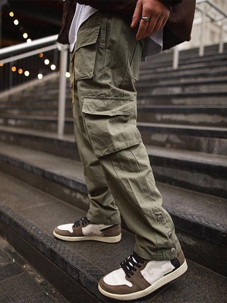 Брюки карго мужские 2021, уличная одежда в стиле хип хоп, штаны для бега, модные брюки для спортзала, фитнеса, повседневные джоггеры, спортивные брюки, мужские брюки|Спортивные брюки|   | АлиЭкспресс