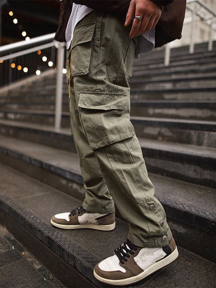 Брюки-карго мужские 2021, уличная одежда в стиле хип-хоп, штаны для бега, модные брюки для спортзала, фитнеса, повседневные джоггеры, спортивны...