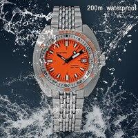 Top Brand Diver Watch uomo SUB300T meccanico automatico vetro zaffiro data luminosa 200m Turn Bracelet Seestern orologio da polso Retro