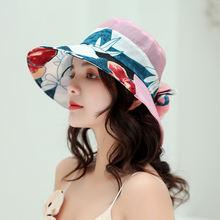 Панама от солнца в Корейском стиле Женская мягкая складная шапка