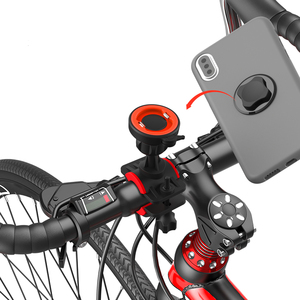 Image 3 - Bicycle Phone Holder For 3.5 6.2 inch Smart phone Adjustable Support GPS Bike Phone Stand Mount Bracket
