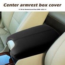 סינטטי עור פלסטיק מכסה מסוף החלפת רכב פנים קישוט חלקים עבור הונדה אקורד 2008 2012 אביזרים